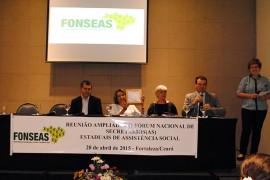 evento fortaleza fonseas 4 270x180 - Secretária Cida Ramos preside evento nacional da Assistência Social em Fortaleza