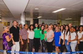 foto2 270x178 - Aluna e professora ganhadoras de medalha de prata em competição internacional chegam à Paraíba