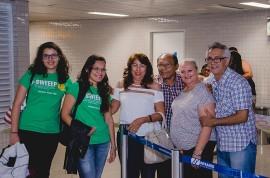 foto4 270x178 - Aluna e professora ganhadoras de medalha de prata em competição internacional chegam à Paraíba