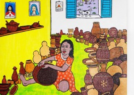 """salao de artesanato de cg 1 270x191 - Governo realiza Salão de Artesanato com o tema """"As mãos que trabalham nossa cultura"""" em CG"""