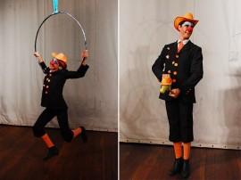 ulisses PALHAÇO 03 270x202 - Funesc lança projeto 'Circo no Espaço' e inscreve para curso de artes circenses