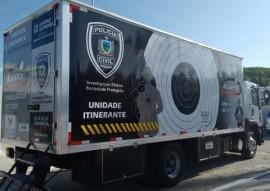 Caminhão simulador de tiro2 270x191 - Governo do Estado inaugura simulador de tiro itinerante nesta sexta-feira