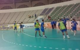 treino handebol1 270x172 - Seleção Brasileira de Handebol faz primeiro treino no Ronaldão