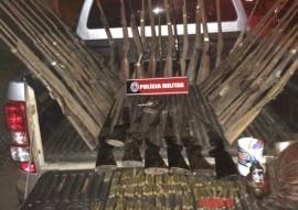 Armas PM Queimadas 270x191 - Forças de Segurança da Paraíba apreendem mais de 1.900 armas de fogo no 1º semestre de 2015