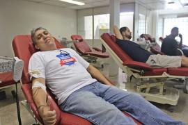 RicardoPuppe PRF Doação Sangue PERSONAGEM 1 270x180 - Hemocentro da Paraíba recebe PRF-PB para campanha de doação de sangue