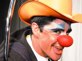 ulisses PALHAÇO 04 270x202 - Funesc inscreve para oficina de artes circenses até a próxima terça-feira