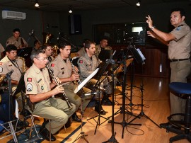 Fotos Ensaio Banda de Música PM Foto Wagner Varela SECOM PB 1 270x202 - Banda de Música da Polícia Militar ensaia para desfiles da Semana da Pátria na Paraíba