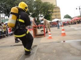 bombeiro aco2 270x202 - Bombeiros simulam situações de resgate durante competição no Ponto de Cem Réis