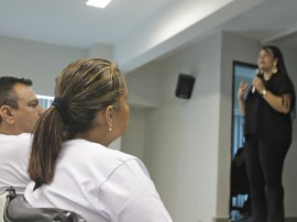 RicardoPuppe Reuni+úo Doa+º+úo Org+úos 001 270x202 - Campanha para Doação de Órgãos e Tecidos promove palestra para profissionais e estudantes da saúde