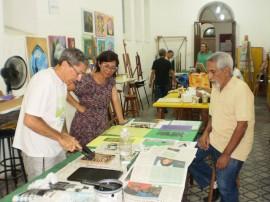 aula de Xilogravura. Professores Mauri lio Almeida e Jose  Altino 270x202 - Centro Estadual de Arte triplica número de inscritos em quatro anos