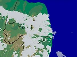 chuvas fracas 270x202 - Aesa prevê sol com variações de nuvens e chuvas localizadas na faixa litorânea nesta quinta-feira