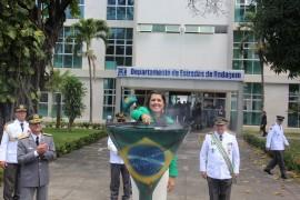 ligia desfile14 270x180 - Vice-governadora participa de desfile de 7 de Setembro em João Pessoa