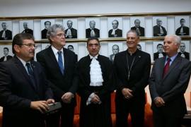 posse fialho Foto Francisco França1 270x180 - Ricardo participa da solenidade de posse de Rogério Fialho na presidência do Tribunal Regional Federal