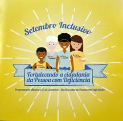 setembro inclusivo logo - Setembro Inclusivo: atividades marcam Dia Nacional da Pessoa com Deficiência