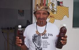 mel indigenas1 270x172 - Mel de abelhas produzido por indígenas paraibanos participa de evento mundial