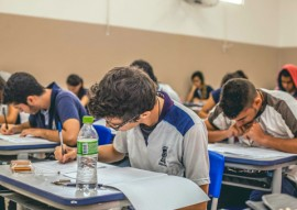 """see realiza simuladao para o enem na rede estadual 4 270x191 - Alunos e educadores avaliam positivamente a aplicação do """"Simuladão Estadual"""""""