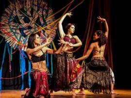 Integrantes da Cia Lunay 5ª edição da CTNE PE 270x202 - Governo do Estado realiza Projeto Interatos com atividades integradas de teatro, dança e circo na Funesc