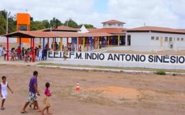 MARCAÇÃO15  270x169 - Ricardo entrega escola e pavimentação de estrada no Litoral Norte