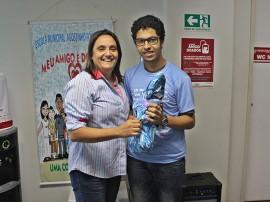 RicardoPuppe Dia do Doador Dra Sandra 270x202 - Hemocentro da Paraíba realiza atividades pelo Dia Nacional do Doador de Sangue