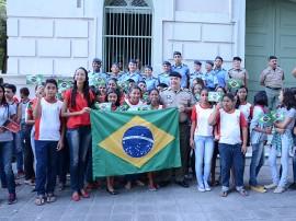 Solenidade Dia da Bandeira PMPB Foto Wagner Varela Portal 270x202 - Estudantes participam de solenidade em homenagem ao Dia da Bandeira