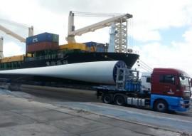 navio carga de pas eolicas 4 270x191 - Porto de Cabedelo recebe navio da China com pás eólicas para o Rio Grande do Norte