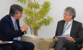 ricardo reune com ministro alemao igf foto jose marques2 270x164 - Ricardo discute parcerias com embaixadores do Reino Unido e da Alemanha