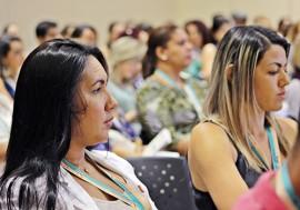 ses congresso internacional de hiv aids e epatite foto ricardo puppe5 1 270x189 - Congressos internacionais de HIV/Aids e Hepatites começam com oficinas