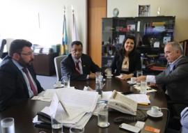 vice gov ligia em brasilia projeto de reuso de agua na pb Audiencia Min. Comunicacoes 3 270x191 - Em Brasília: Lígia solicita recursos à ANA para projetos de reuso de água na Paraíba
