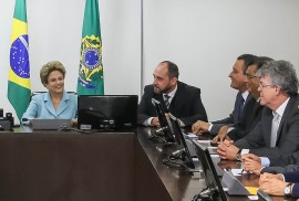 Dilma 4 270x182 - Ricardo participa de reunião com presidente Dilma e propõe ações para combater Aedes aegypti