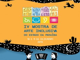 FACE MOSTRA DE ARTE 30112015 portal 270x202 - Funad realiza 4ª Mostra de Arte Inclusiva do Estado da Paraíba