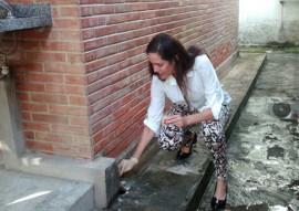 Sec Roberta Abath 270x191 - Unidades estaduais de saúde realizam mais um dia de faxina contra o mosquito Aedes aegypti