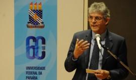 UFPB1  270x158 - Ricardo é homenageado em solenidade que comemorou 60 anos da UFPB