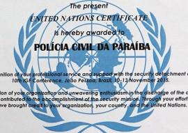 policia civil recebe certificado onu 2 270x191 - Polícia Civil recebe certificado da ONU por atuação no IGF 2015