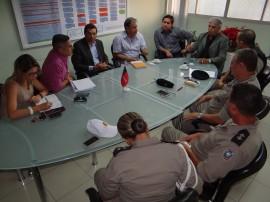 reunião trânsito1 270x202 - Polícia e órgãos de trânsito intensificam fiscalização no mês de dezembro