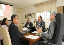 BNB REUNIAO 270x192 - Ricardo discute parcerias com representantes do Banco do Nordeste