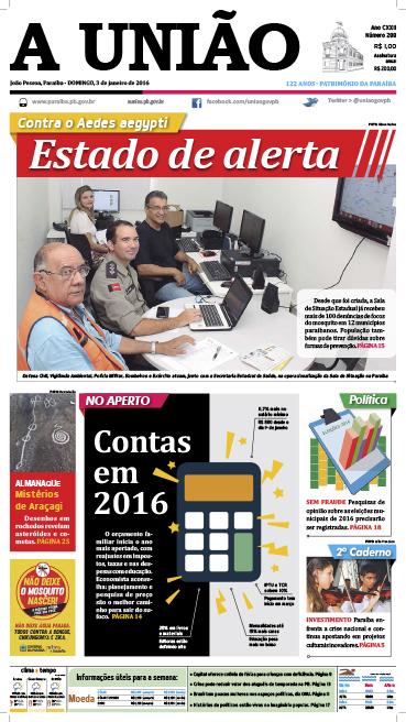 Capa A União 03-01-16