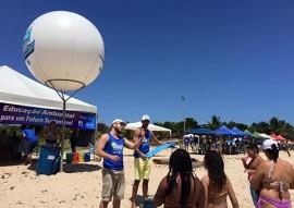 Praia Limpa Verao Rico na Penha 4 270x191 - Projeto Praia Limpa Verão Rico realiza atividades na praia da Penha