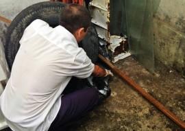 SES ANTES da faxina foto ricardo puppe 1 270x191 - Secretaria de Saúde e Hemocentro realizam mais um Dia da Faxina contra o Aedes
