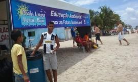 praia limpa11 270x162 - Governo do Estado leva projeto Praia Limpa Verão Rico às praias do Conde e Cabedelo