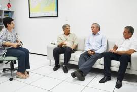 Convidada Dom Aldo Joao Vicente Dir Joaci Mendes portal 270x182 - Aesa e Arquidiocese da Paraíba discutem mobilização social pelo uso consciente da água