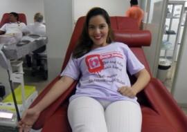 Doadora Sheila Souza 270x191 - Hemocentro da Paraíba inicia de campanha de doação feminina