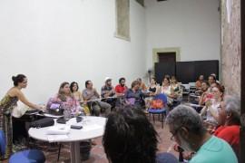 Mesa Redonda com especialistas da Funad 270x180 - Cearte realiza formação continuada de professores para atender alunos com deficiência