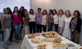 Mulheres homenageadas na Agevisa (01)