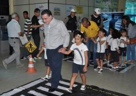 detran educacao de transito visita de escola 4 270x191 - Detran-PB recebe alunos da Fundação Bradesco e ensina educação e segurança no trânsito