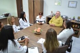 empasa 1 270x180 - Peixaria de entreposto da Empasa recebe visita de grupo de alunos de Nutrição