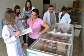 empasa 2 270x180 - Peixaria de entreposto da Empasa recebe visita de grupo de alunos de Nutrição