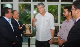 ricardo recebe diretoria da fpf e cbf foto jose marques 1 270x160 - Ricardo discute parceria com Confederação Brasileira de Futebol