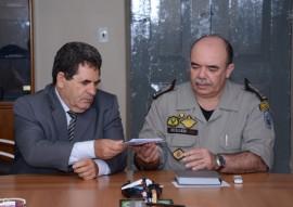Comando da pm recebe presidente do TRE eleicoes 2016 Foto Wagner Varela 4 270x191 - Polícia Militar e TRE-PB discutem segurança das eleições 2016
