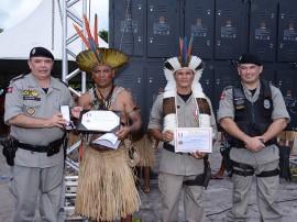 PM concede medalhas a Indígenas no Dia do ÍndioFoto Wagner Varela SECOM PB 3 270x202 - Polícia Militar condecora indígenas com medalha de Serviços Distintos na Baía da Traição