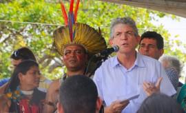 ricardo leva beneficios no dia do indio foto jose marques 8 270x164 - Dia do Índio: Ricardo inaugura obras e anuncia ações que beneficiam a população indígena
